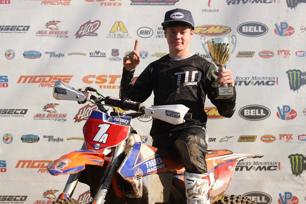 Cole Forbes earned his second-straight youth overall win. Photo: Ken Hill