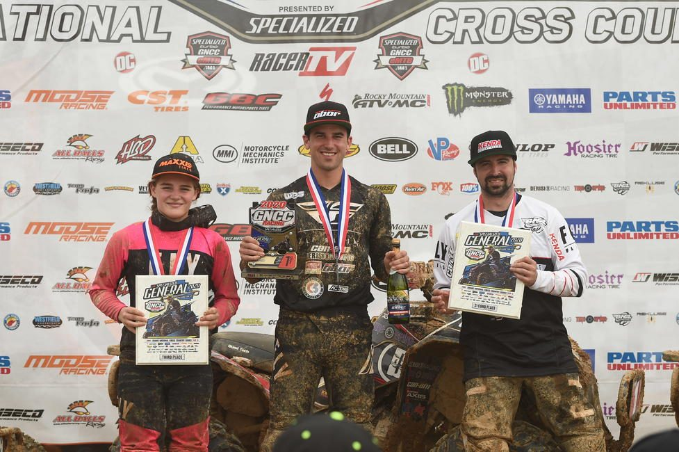 Hunter earned a spot on the morning overall podium twice this season. Photo: Ken Hill