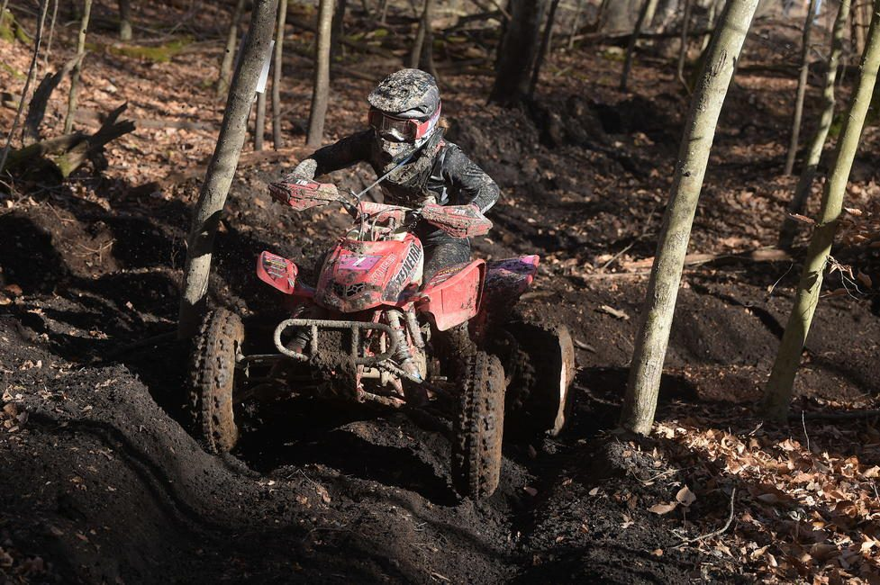 Hunter earned 12 out of 13 WXC ATV class wins during the 2020 season. Photo: Ken Hill