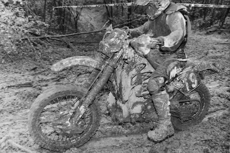 Barry Hawk raced both ATVs and bikes for several years before making a full-time switch to the bike side in 2000.