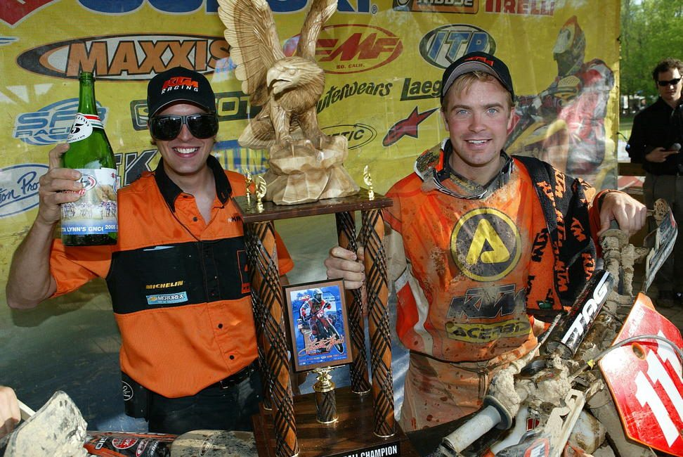 Juha Salminen really upped the game when he came over in 2005. He also brought along Antti Kallonen as his mechanic and when Juha moved on, Antti stayed in the US to become the KTM Off-Road Team Manager, which he still is today.