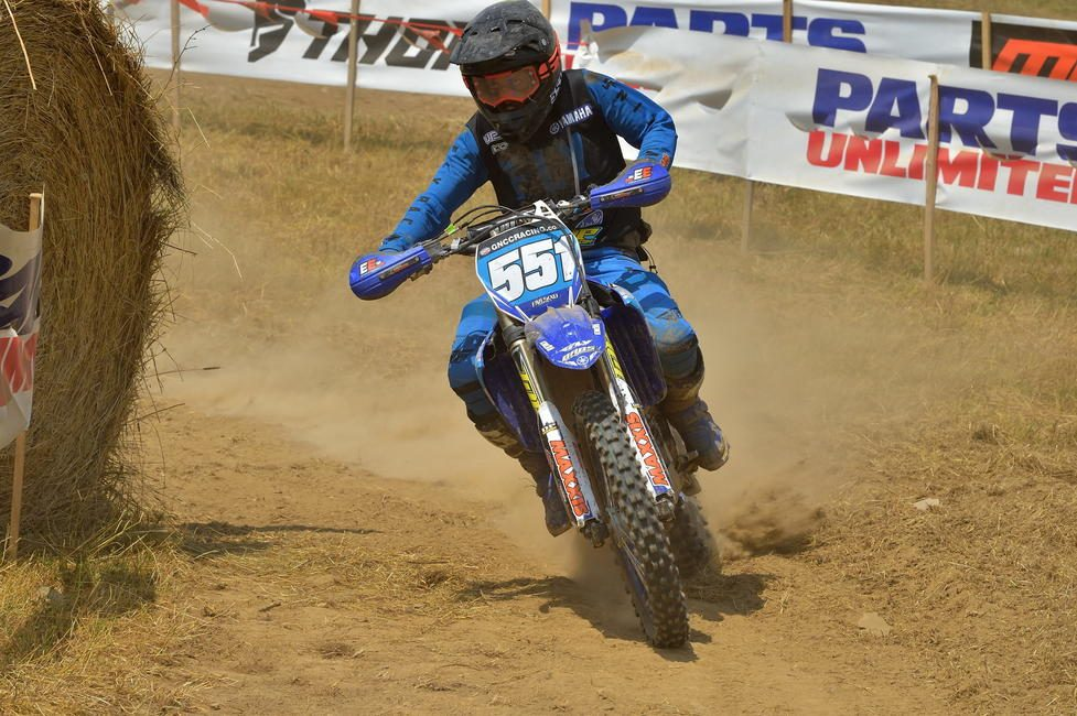 BABS Racing Yamaha's Becca Sheets will be looking to battle at the front of the WXC pack on Sunday. Photo: Ken Hill