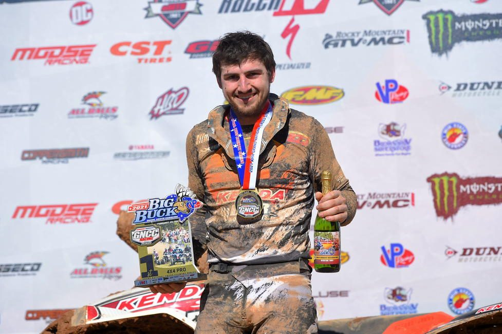 Cody Collier brought home the 4x4 Pro class win.