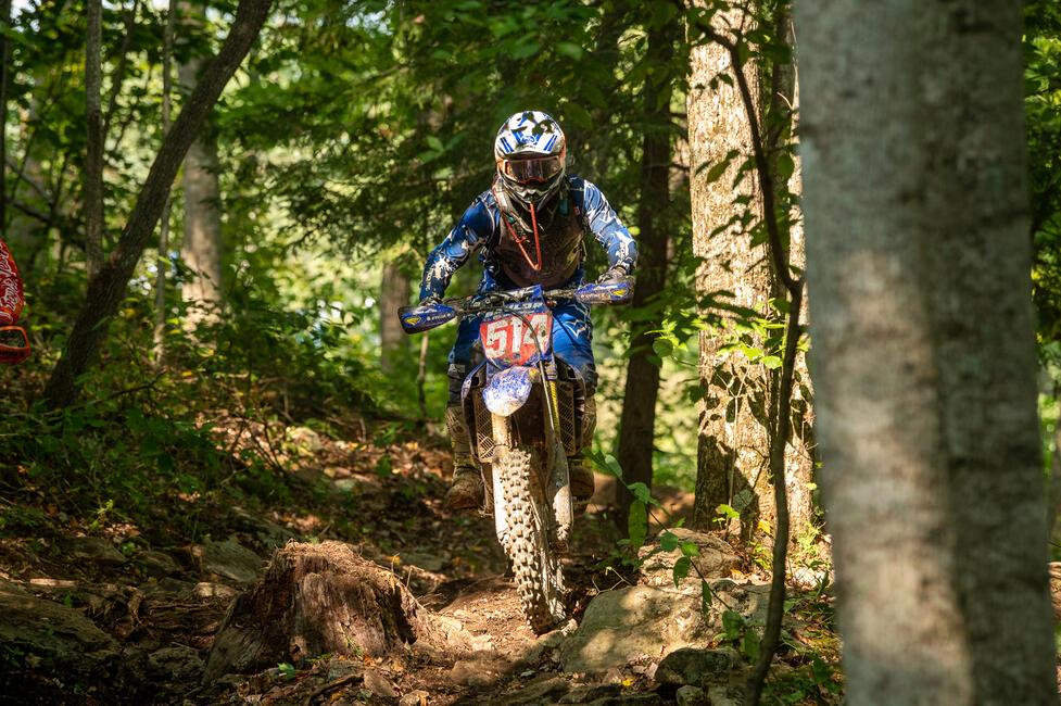 Steward Baylor (AmPro Yamaha) earned his sixth win of the season in West Virginia. Photo: Ken Hill